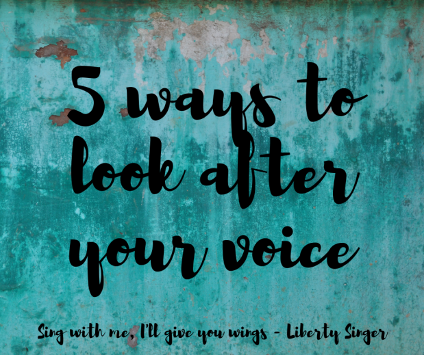 5 tips to look after your voice